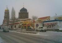 Храм Божией Матери Всех скорбящих радости в рабочем посёлке Городище