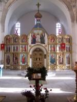 Храм Божией Матери Всех скорбящих радости в рабочем посёлке Городище Волгоградской области