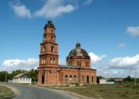 Храм Святого Димитрия Солунского в селе Лозное Дубовского района Волгоградской области