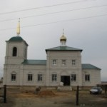 Храм Рождества Христова в селе Горный Балыклей Дубовского района Волгоградской области