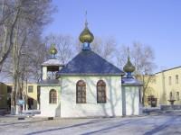Храм Святого князя Димитрия Донского на территории колонии ЯР 154/25 в городе Фролово Волгоградской области