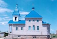 Храм Святых равноапостольных Константина и Елены в посёлке Краснооктябрьский Волгоградской области