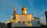 Храм Георгия Победоносца в хуторе Безымянка Михайловского района