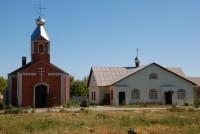 Ахтырский Божией Матери женский монастырь в селе Гусёвка Ольховского района города Волгограда