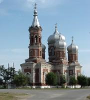 Богоявленский храм в станице Островской Даниловского района Волгоградской области