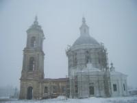 Николо-Сретенский храм в селе Орехово Даниловского района Волгоградской области