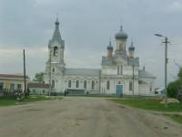 Храм Преображенский в станице Преображенская Киквидзенского района Волгоградской области