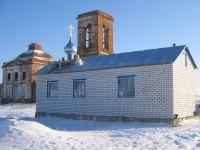 Храм Преподобного Сергия Радонежского в селе Берёзовка Руднянского района Волгоградской области
