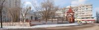Часовня Всех Русских Святых прихода Всемилостивого Спаса Христа Примирителя в Центральном районе города Волгограда