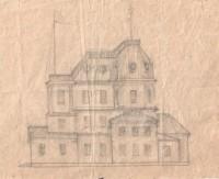 План И.И. Машкова по переоборудованию Сретенской церкви