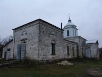 Храм Архангела Гавриила в селе Солонка Нехаевского района Волгоградской области