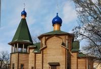 Храм Воздвижения Креста Господня в Ворошиловском районе города Волгограда