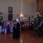 Детские Рождественские праздники в монастыре