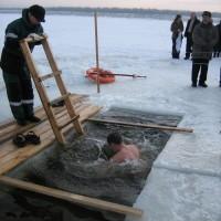 Крещенское омовение