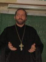 Встреча учеников со священником Аркадием Власовым
