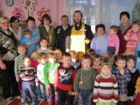В селе Нижняя Добринка Камышинского района освящён детский сад