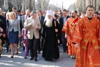 Пасхальные торжества в Волгограде