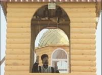 Сегодня в храме Святителя Луки города Волжского впервые прозвучал колокольный звон