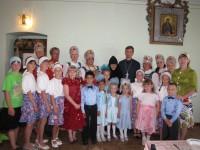 На день Святого Духа в женском монастыре Ахтырской иконы Божией Матери состоялся концерт