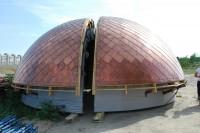 На храм Иоанна Кронштадтского установят купола