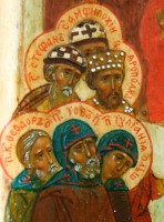 Лики святого преподобного Иова и святого преподобного Амфилохия Почаевских