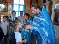 Молебен к началу учебного года прошёл в храме Покрова Пресвятой Богородицы хутора Ветютнев