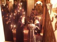 Первый монашеский постриг в монастыре