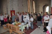 В посёлке Сады Придонья празднуют Яблочный Спас