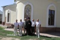 Депутат облдумы Владимир Попов посетил Никольский кафедральный собор