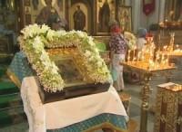 В Волгоград прибыла икона Божией Матери «Семистрельная»
