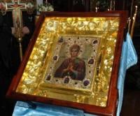 В Свято-Владимирский храм прибыла икона Пресвятой Богородицы