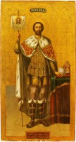 Первая Литургия в храме Александра Невского
