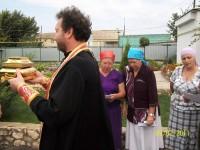 Встреча ковчега со святыми мощами