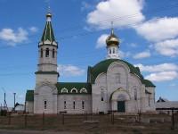 Храм Свято-Троицкий в городе Николаевск