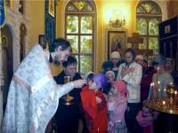 Детская Литургия в городе Фролово