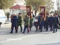 Вчера в Камышине прошёл Крестный ход в честь Святого Димитрия Солунского