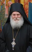 Молебен за игумена Ватопедского монастыря