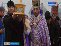 В Волгоград прибыли мощи Георгия Победоносца