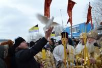 Православные волгоградцы прошли крестным ходом