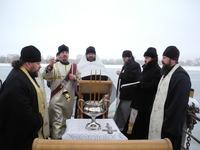 Праздник Крещения Господня в Волжском благочинии