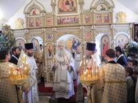 Божественная Литургия в Христо-Рождественском храме
