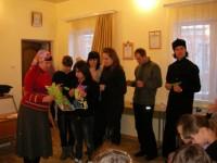 На приходе храма Успения Богородицы прошла молодёжная встреча