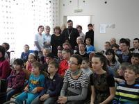 """Рождественский праздник в Центре реабилитации детей-инвалидов """"Надежда"""""""