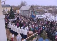 «Рождественская ёлка» в Заплавном