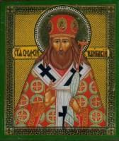 Мощи святителя Феодосия в Свято-Духовом монастыре