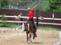 Освящение конно-спортивного клуба