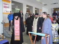 Студенты и преподаватели Волжского института строительства и технологий встретили православную святыню