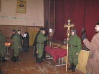 В воинской части встретили православную святыню