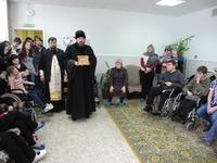 В Центре «Надежда» встретили святыню