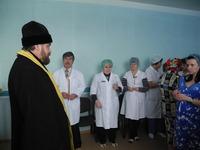 Молебен в областном перинатальном центре